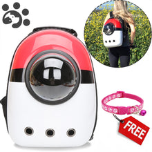 Load image into Gallery viewer, Pokemon Backpack for Small Dogs and Cats