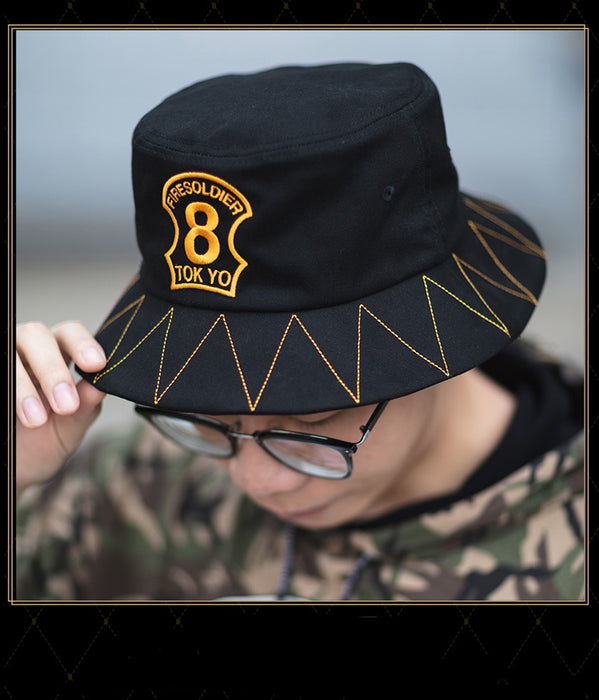 Enn Enn No Shouboutai Fire Force Bucket Hat Cap