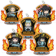 Load image into Gallery viewer, Enn Enn No Shouboutai Fire Force Keychain's
