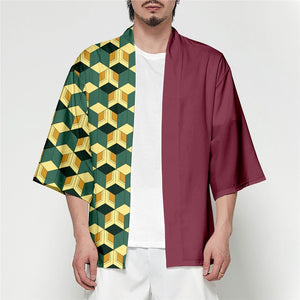 Demon Slayer Modern Kimono Shirt Coats
