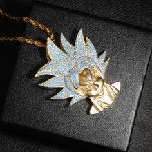 Load image into Gallery viewer, Super Saiyan Goku Pendant Dragon Ball Z Chain