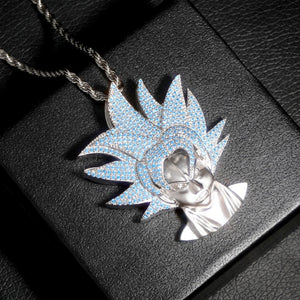 Super Saiyan Goku Pendant Dragon Ball Z Chain