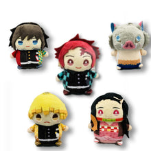 Load image into Gallery viewer, Demon Slayer: Kimetsu no Yaiba Keychain Plushies