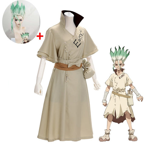 Dr Stone Ishigami Senku Cosplay Full Set