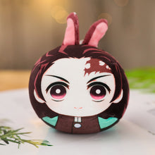Load image into Gallery viewer, Demon Slayer Keychain Plushie