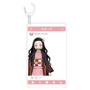 Demon Slayer: Kimetsu no Yaiba Character Filter Keychains