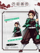 Load image into Gallery viewer, Demon Slayer: Kimetsu no Yaiba Character Filter Keychains