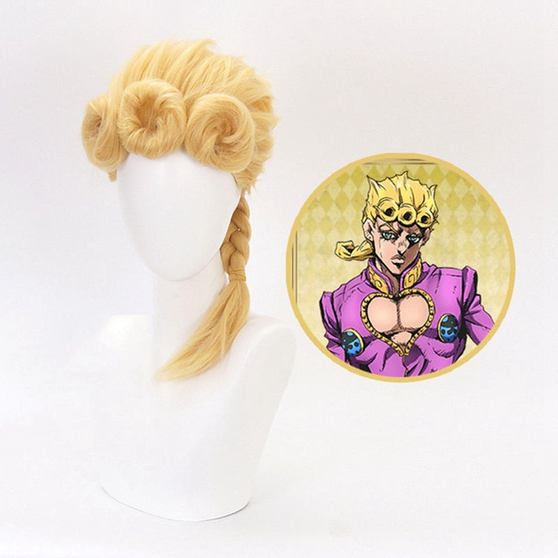 Giorno Giovanna Golden Wig from JoJo's Bizarre Adventure