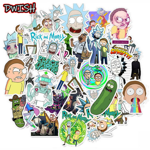 Rick and Morty Stickers 50pcs