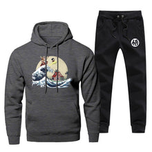 Load image into Gallery viewer, The Great Wave Dragon Ball Hoodie and Pants Set