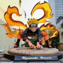 Load image into Gallery viewer, Naruto 3 Tails Kyuubi Chakra Mode Statue