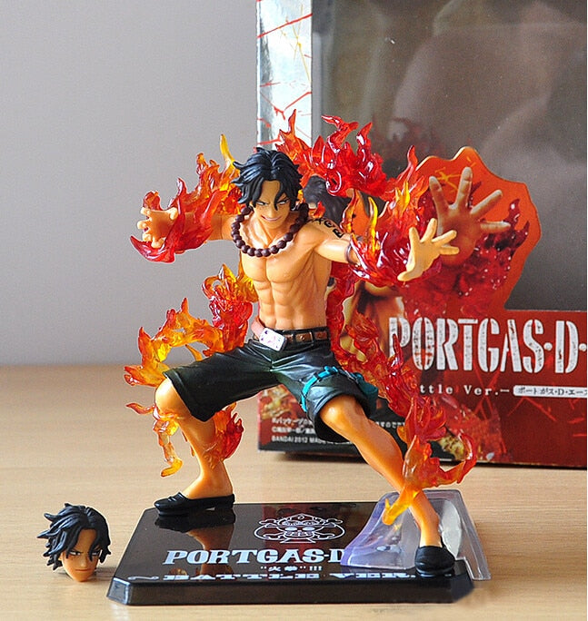 14cm One Piece Portgas D Ace Battle Ver. 1 Figure