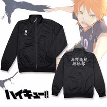 Load image into Gallery viewer, Haikyuu Karasuno Jacket