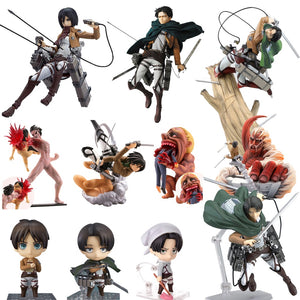 Anime Attack on Titan Figures