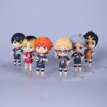 Load image into Gallery viewer, 6pcs/Set 10cm Anime Haikyuu Figures