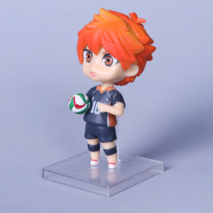 6pcs/Set 10cm Anime Haikyuu Figures