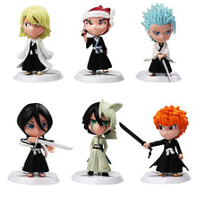 Load image into Gallery viewer, Mini Bleach Figures - 6pcs Set
