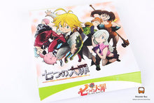 Load image into Gallery viewer, The Seven Deadly Sins 5pc/set Keychain Weapons