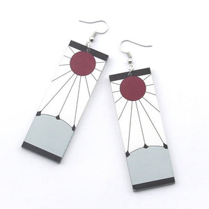 Demon Slayer Kimetsu no Yaiba Earrings For Women And Men