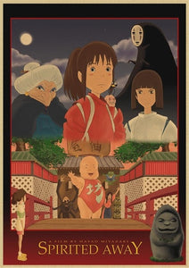 Ghibli Vintage Posters Collections