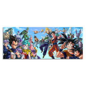 Dragon Ball Z Posters (12x30 or 20x50 inch)