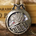 Vintage Fairy Tail Pocket Watch - TheAnimeSupply