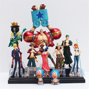 One Piece Straw Hat Pirates Action Figure Complete Set
