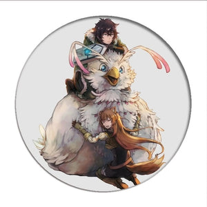 The Rising of the Shield Hero Cosplay Badges