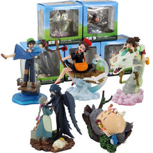Load image into Gallery viewer, Ghibli Figure Set (4pcs/set or 5pcs/set): Totoro + Spirited Away + Castle in the Sky + Howl's Moving Castle + Kiki's Delivery Service