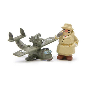 Porco Rosso Figure (Red Pig and Airplane)