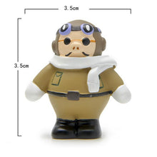 Load image into Gallery viewer, Porco Rosso Figure (Red Pig and Airplane)