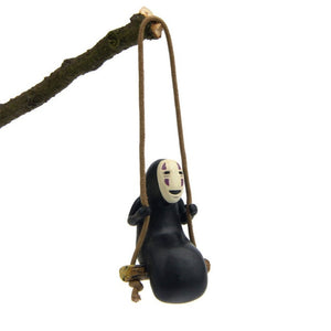 Spirited Away No Face Man Figure (Can be used as a Keychain)