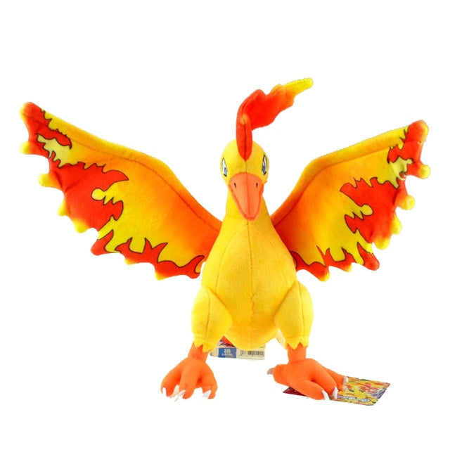 Legendary Bird Pokemon Moltres Plush Doll