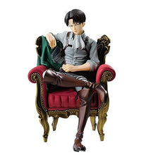 Load image into Gallery viewer, Attack on Titan Levi action figure 15cm (Sofa Ver.)