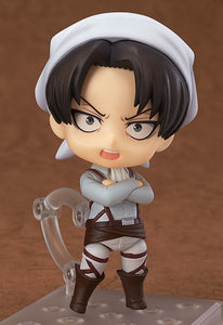 Attack on Titan Levi Cleaning Version Figure Nendoroid #417