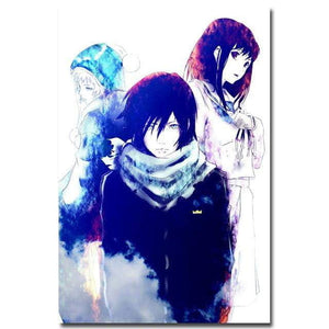 Noragami Anime Art Silk Poster Print 12X18 20X30 24x36 inches Home Bedroom Decor - TheAnimeSupply