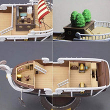 Load image into Gallery viewer, Anime One Piece Thousand Sunny & Meryl Boat Pirate Ship Figure PVC Action Figure - TheAnimeSupply