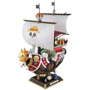 Anime One Piece Thousand Sunny & Meryl Boat Pirate Ship Figure PVC Action Figure - TheAnimeSupply