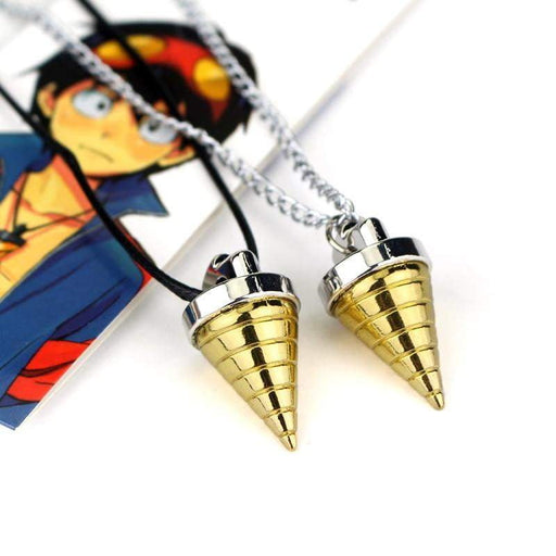 Tengen Toppa Gurren Lagann Drill Necklace - TheAnimeSupply
