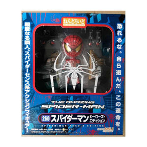 "Nendoroid 4""/10cm Spider Man Figure Japan Exclusive"
