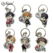 Load image into Gallery viewer, Haikyuu! Metal Keychain - TheAnimeSupply