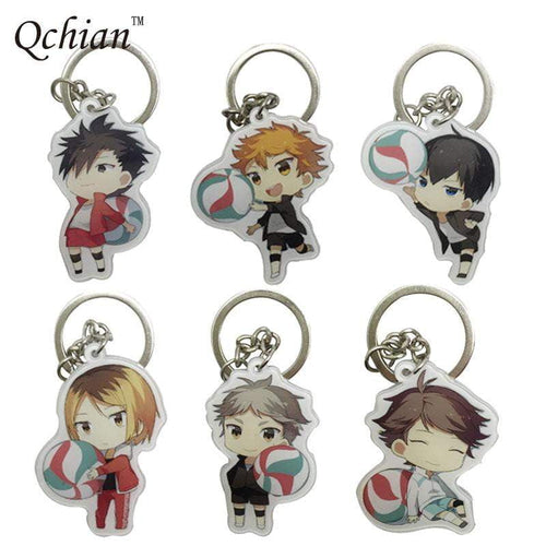 Haikyuu! Metal Keychain - TheAnimeSupply