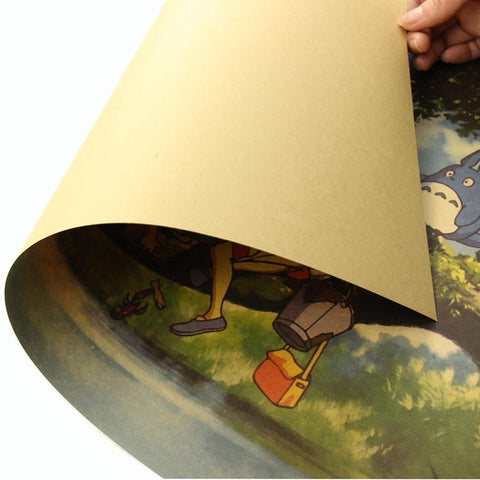 My Neighbour Totoro Tree Poster
