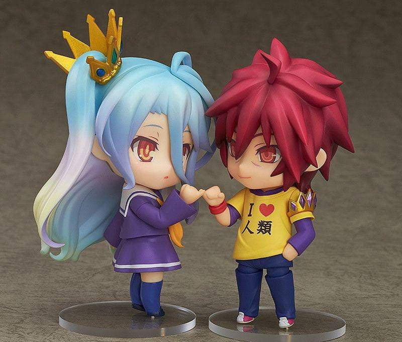 Anime No Game No Life Nendoroid Sora 652 & Shiro 653 PVC Action Figure - TheAnimeSupply
