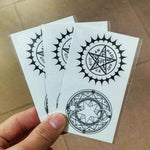 Waterproof Temporary Tattoo Sticker Black Butler Contract Symbol - TheAnimeSupply