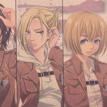 Load image into Gallery viewer, Attack on Titan Character Collection Poster - TheAnimeSupply