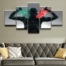 Load image into Gallery viewer, Sword Art Online Kirito Sword 5 piece Canvas Wall Art - TheAnimeSupply