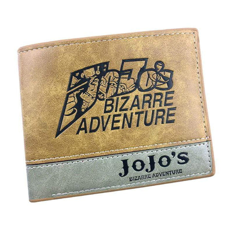 JOJO Bizarre Adventure Leather Wallets Anime - TheAnimeSupply