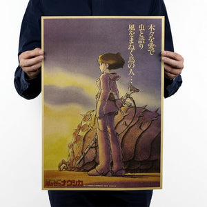 Nausicaa of the Valley of the Wind Poster 51x35.5cm