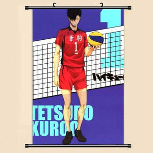 Anime Manga Haikyuu!! Wall Scroll Painting - TheAnimeSupply